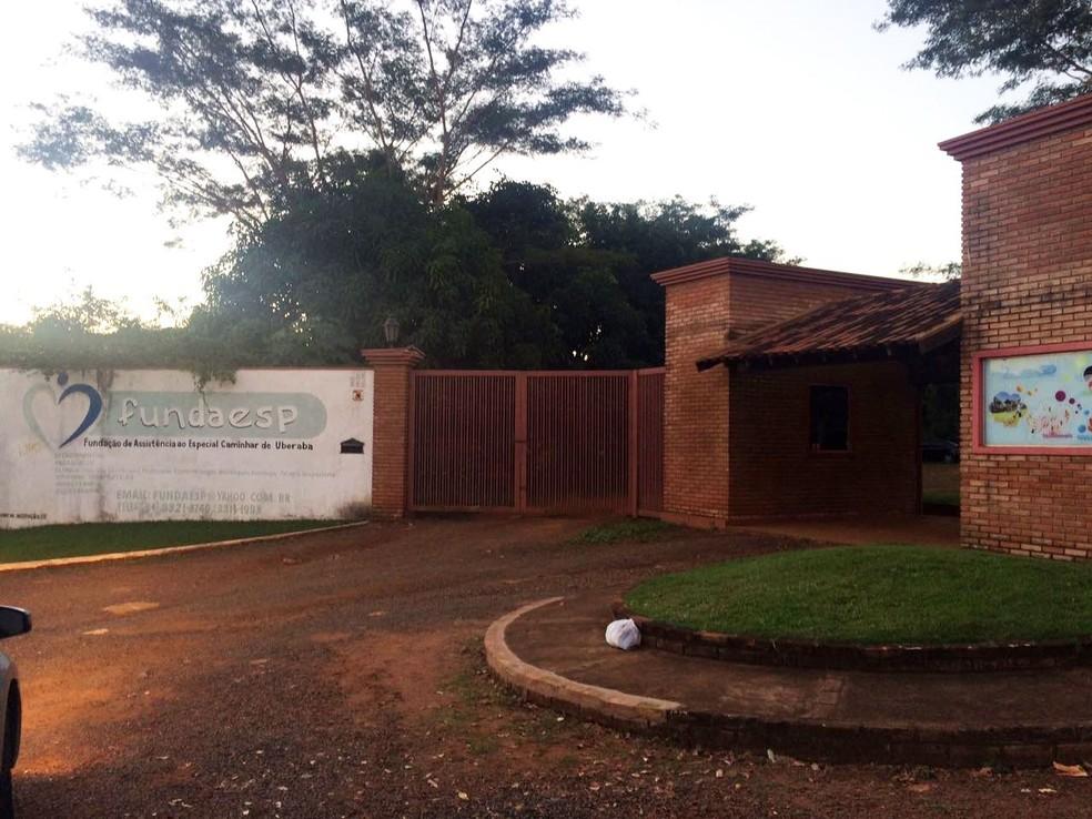 Fundaesp foi criada em 1999 e, atualmente, está instalada na antiga Chácara Vila Vitória  (Foto: Cláudia Simone/Arquivo Pessoal )