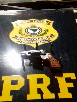 Suspeitos foram seguidos por policiais e presos (Foto: Divulgação/ PRF Bahia)