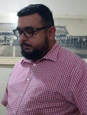 Emanuel Lima, Ferroviário, Conselheiro (Foto: Crisneive Silveira)