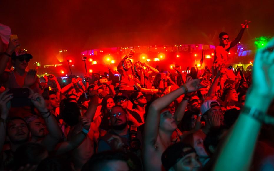 Preferência David Guetta no Tomorrowland Brasil 2016: Veja vídeos e fotos  PE05