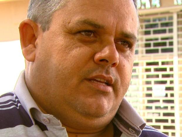 O novo prefeito Edinho Raminelli em Boa Esperança do Sul (Foto: Reprodução/EPTV)