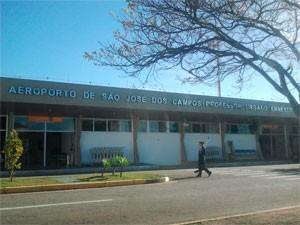 Aeroporto de São José dos Campos (Foto: Renato Ferezim/G1)