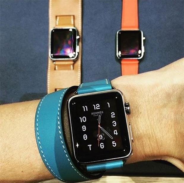 2aa6de5c2a8 Hermès assina versão deluxe do novo Apple Watch - Vogue