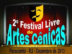 2º Festival Livre de Artes Cênicas de Paracambi (Foto: Divulgação/Prefeitura Paracambi)