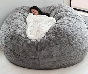 Pufe gigante, da empresa LoveSac: perfeito pra quem quer tirar uma soneca! (Foto: Instagram / Divulgação)