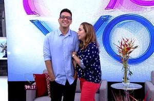 André Marques fala sobre crise renal (Foto: TV Globo)
