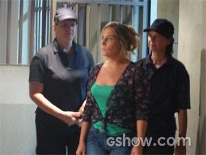 Marali vai parar na cadeia (Foto: Segunda Dama/TV Globo)