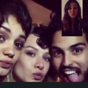 Sophie Charlotte, Fiorella Mattheis e André Nicolau com Thaila Ayala (Foto: Instagram/ Reprodução)