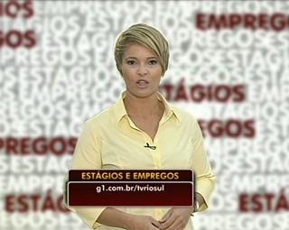 Estágios e Empregos, Marilene Soares traz as vagas (Foto: Reprodução Bom Dia Rio)