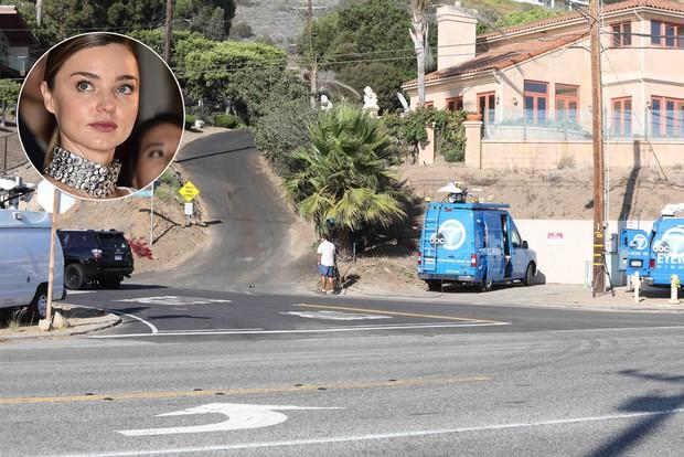 Homem invade casa de Miranda Kerr e é baleado