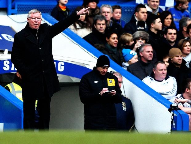 alex ferguson manchester united chelsea (Foto: Agência Getty Images)