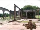 Bombeiros alertam para risco de desabamento de ruínas históricas