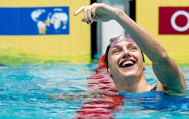 Katinka Hosszu recorde natação 100m Holanda (Foto: AFP)