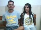 Casal suspeito de assaltos é preso ao ser flagrado com objetos roubados