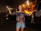 Wanessa mostra make do Carnaval e confidencia: 'Frio na barriga'