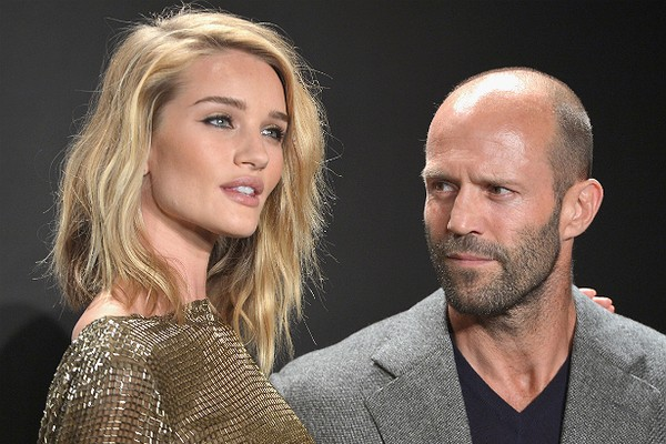 O ator Jason Statham e a modelo Rosie Huntington-Whiteley (Foto: Getty Images)