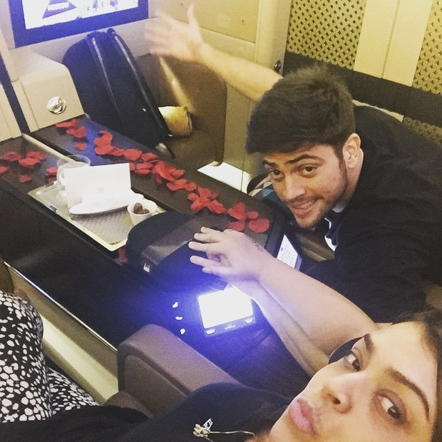 Preta Gil e Rodrigo Godoy em viagem de lua de mel (Foto: Instagram/ Reprodução)
