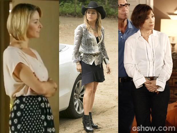 Personagens colocam sua personalidade na peça curinga (Foto: Em Familia/TVGlobo)