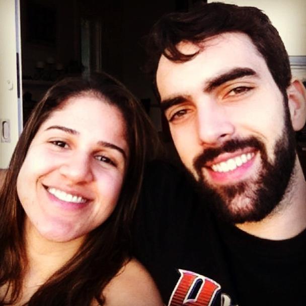 Natália se declara para Benite (Foto: Reprodução/Instagram)