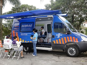 Equipe do Sebrae Móvel estará em Borborema (Foto: Divulgação)