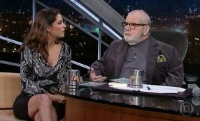 Jô Soares entrevista a escritora Thalita Rebouças