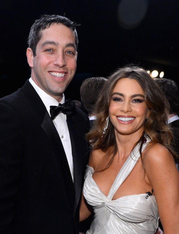 Sofía Vergara e seu ex-noivo, Nick Loeb (Foto: Getty Images)