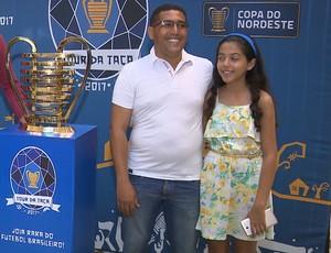 Taça da Copa do Nordeste, Campina Grande (Foto: Reprodução / TV Paraíba)