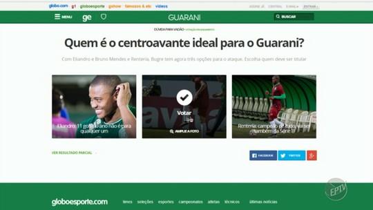 Rentería aparece no BID e aumenta disputa por vaga na lista do Guarani