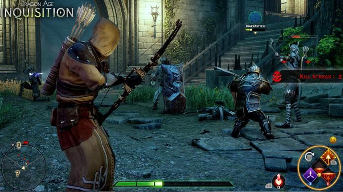 Multiplayer de Dragon Age: Inquisition permite combates cooperativos com 4 jogadores (Foto: Gematsu)