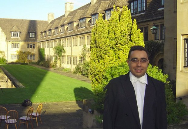 Vinícius Rodrigues Vieira é estudante de doutorado da Universidade de Oxford (Foto: Arquivo pessoal)