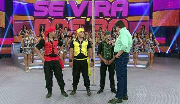 Quadro do Domingão do Faustão revela talentos em 30 segundos  (Foto: Divulgação/ Rede Globo)