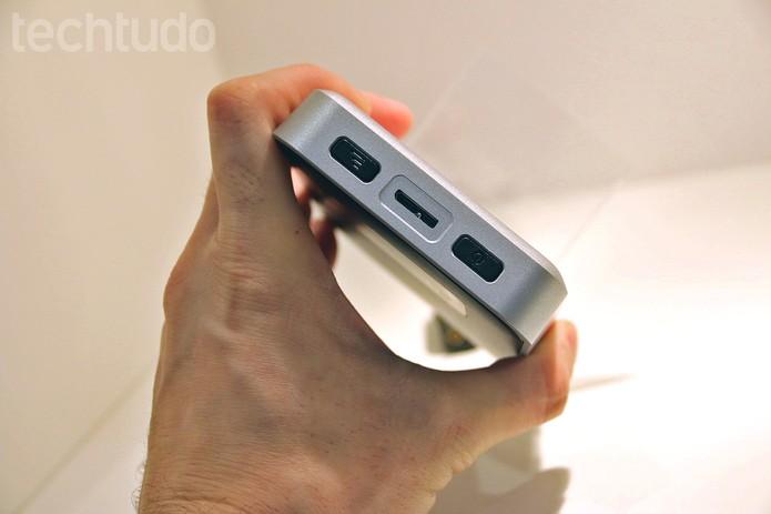 My Passport Wireless permite que até 4 pessoas assistam a um vídeo HD simultaneamente (Foto: Fabrício Vitorino/TechTudo)