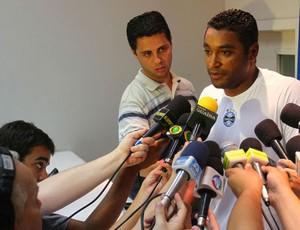 roger; grêmio; gre-nal (Foto: Lucas Uebel/Grêmio FBPA)