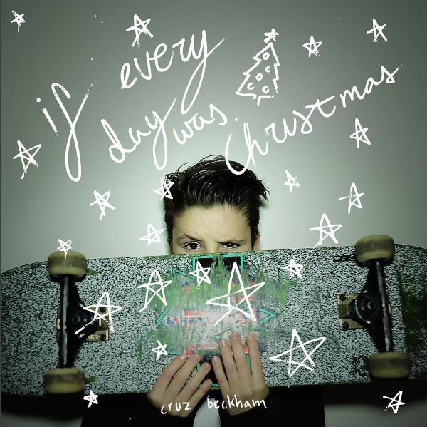 A capa do primeiro single de Cruz Beckham, filho de David Beckham e Victoria Beckham (Foto: Instagram)