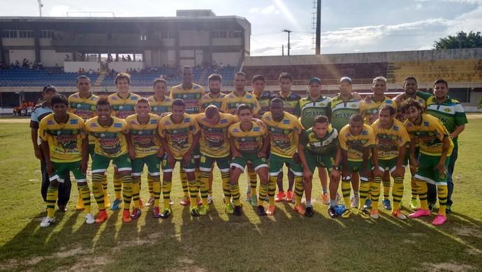 Elenco do Ipanema para o Campeonato Alagoano de 2016 (Foto: Arquivo Pessoal/Paulo da Silva)