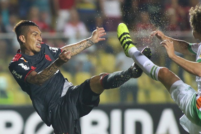 Guerrero Flamengo x América-MG (Foto: Gilvan de Souza/Flamengo)