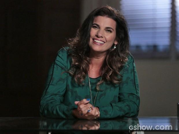 Cícera conta detalhes de sua vida nos Estados Unidos  (Foto: Felipe Monteiro / TV Globo)