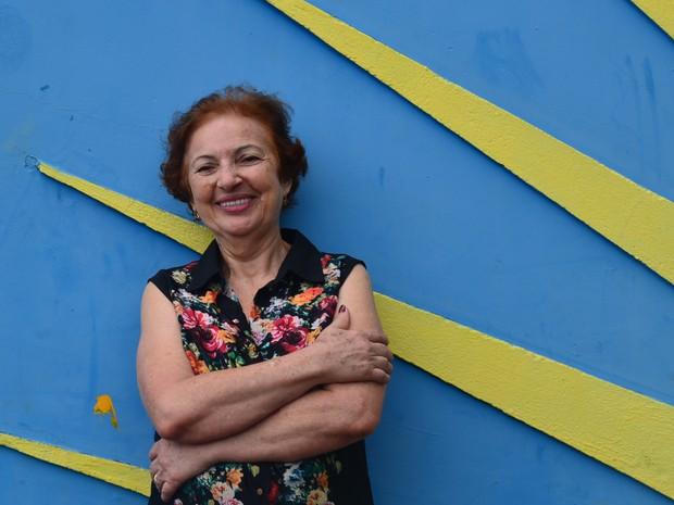 Aos 74 anos, dona Marta estima ter acolhido mais de dez mil pessoas em Ribeirão Preto, SP (Foto: Gabriela Castilho/G1)