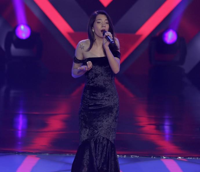 Cristyéllem Camargo canta 'Hino ao Amor (Hymne à L'Amour)' (Foto: Artur Meninea/Gshow)