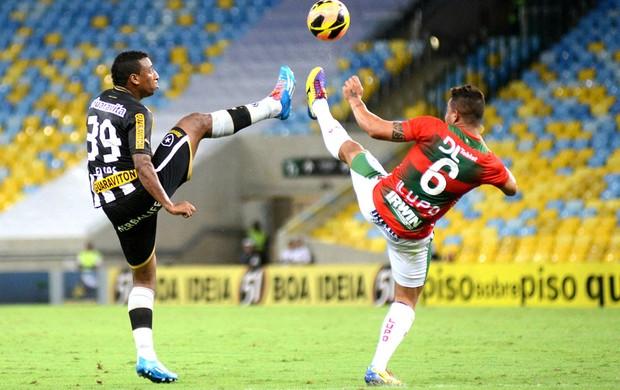 Elias Botafogo e Portuguesa (Foto: Andre Durão)