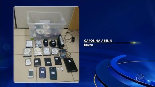 Operação prende porteiro suspeito de armazenar material com pornografia infantil
