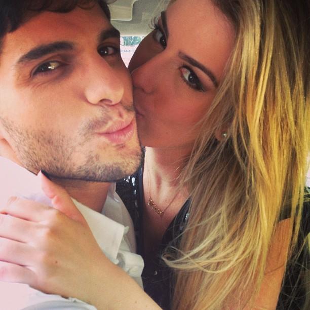 André Martinelli e Fernanda Keulla (Foto: Reprodução/Instagram)