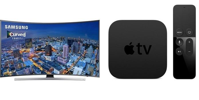 Com valor do aparelho mais caro é possível comprar uma TV 4K e uma Apple TV (Foto: Montagem/Gabriel Ribeiro)