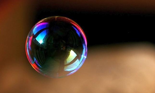 Bolha de sabão (Foto: Arquivo Google)
