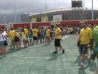 Parque Olímpico volta a ter filas e falta de comida neste domingo