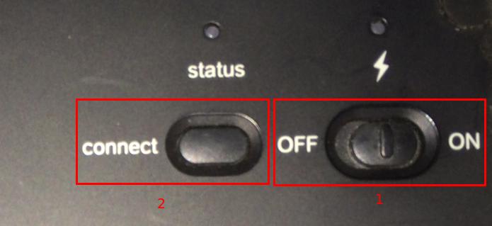 Ligando e ativando a localização do teclado sem fio (Foto: Reprodução/Edivaldo Brito)