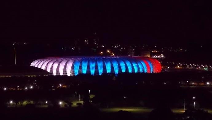 Beira-Rio estádio Inter iluminação França (Foto: Internacional/Divulgação)