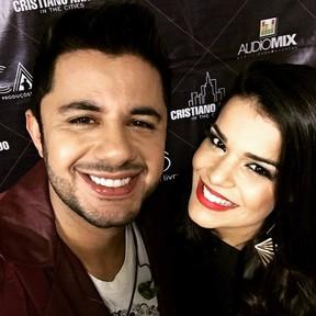Cristiano Araújo e Mari Antunes (Foto: Reprodução/Instagram)