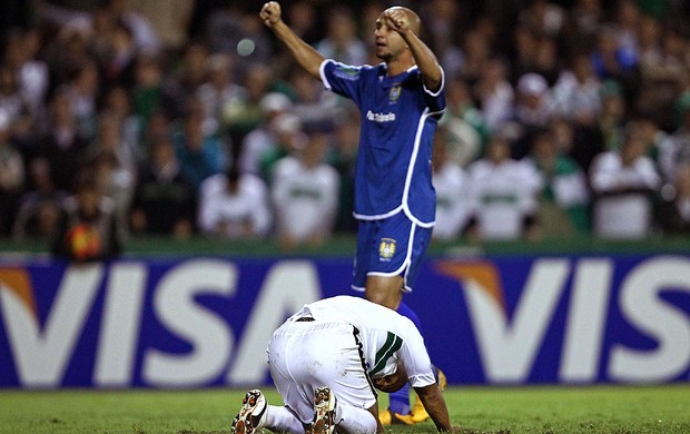 Alex Coritiba eliminado Copa do Brasil Nacional-AM (Foto: Heuler Andrey / Agência Estado)