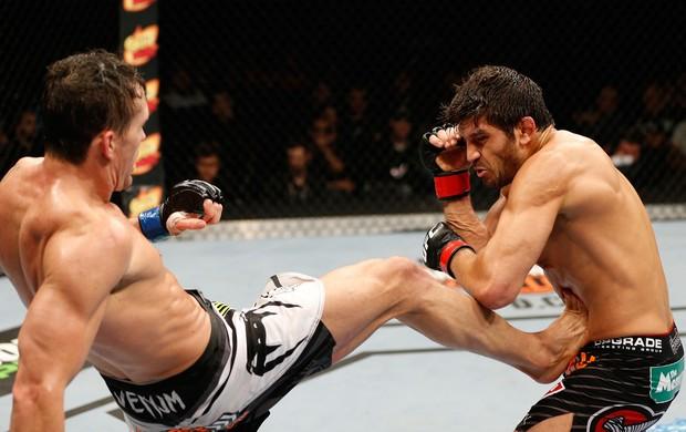 Patrick Cote x Kyle Noke UFC MMA (Foto: Getty Images)